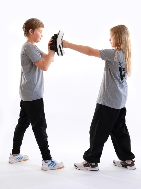 Kampfsport Mädchen und Jungs ab 6 in der Fachschule für Selbstverteidigung LU